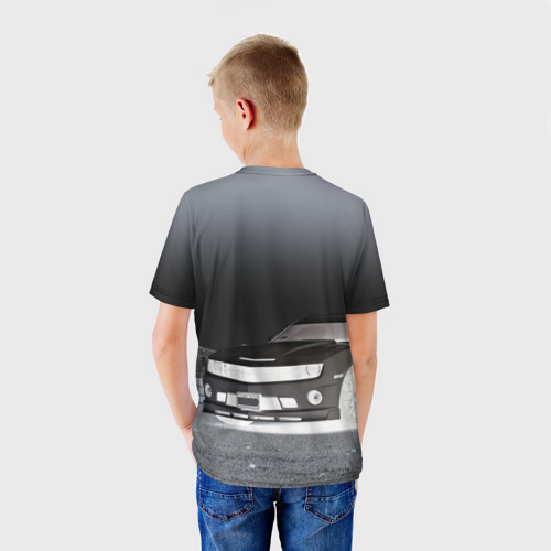 Детская футболка 3D  Фото 02, Chevrolet, ночь