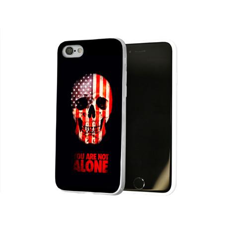 Чехол для Apple iPhone 8 силиконовый глянцевый  Фото 02, Ты не одинок!