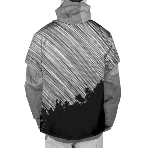 Накидка на куртку 3D  Фото 02, Обычный рисунок