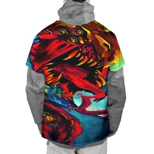 Накидка на куртку 3D  Фото 02, CS GO-Hyper beast
