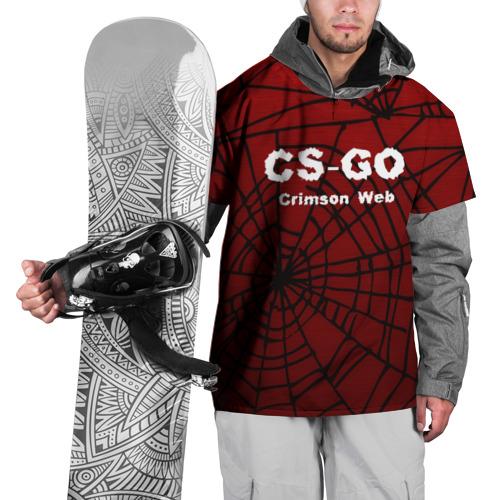 Накидка на куртку 3D  Фото 01, CS:GO Crimson Web