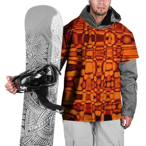 Накидка на куртку 3D  Фото 01, Апельсиновая абстракция