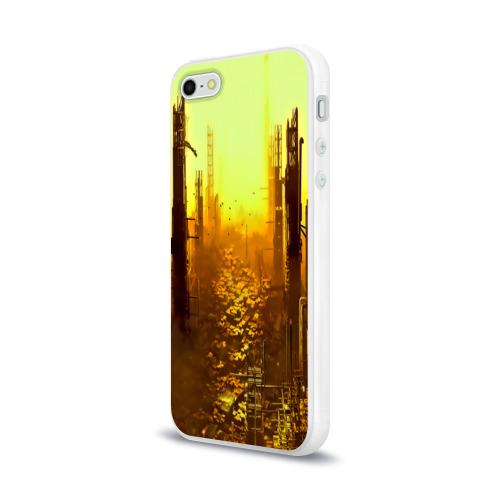 Чехол для Apple iPhone 5/5S силиконовый глянцевый  Фото 03, deus ex