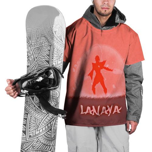 Накидка на куртку 3D  Фото 01, LANAYA
