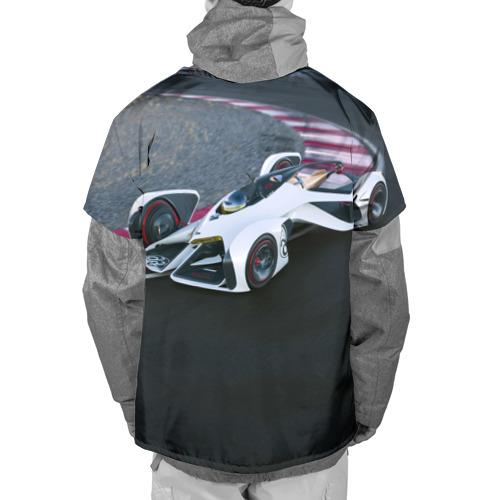 Накидка на куртку 3D  Фото 02, Болид Chevrolet