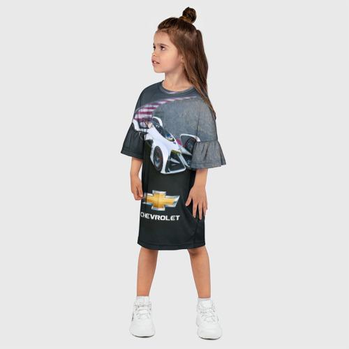 Детское платье 3D  Фото 03, Болид Chevrolet
