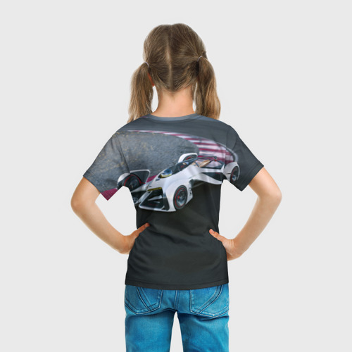 Детская футболка 3D  Фото 04, Болид Chevrolet
