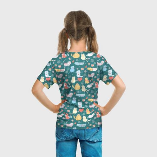 Детская футболка 3D  Фото 04, Счастливые котики