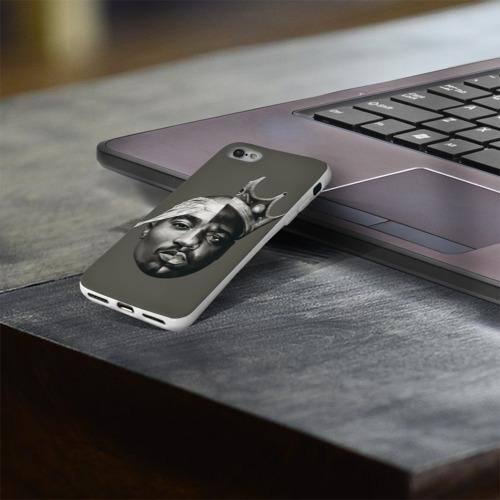 Чехол для Apple iPhone 8 силиконовый глянцевый  Фото 03, Короли хип-хопа!