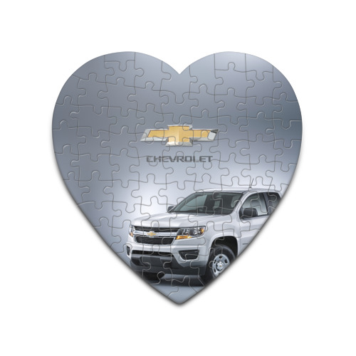 Пазл сердце 75 элементов  Фото 01, Chevrolet пикап