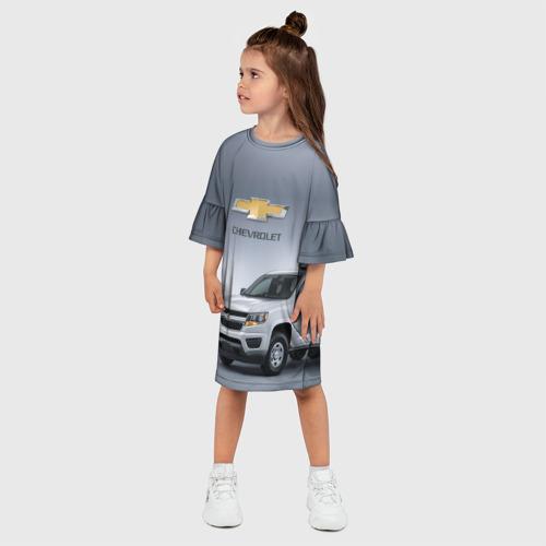 Детское платье 3D  Фото 03, Chevrolet пикап