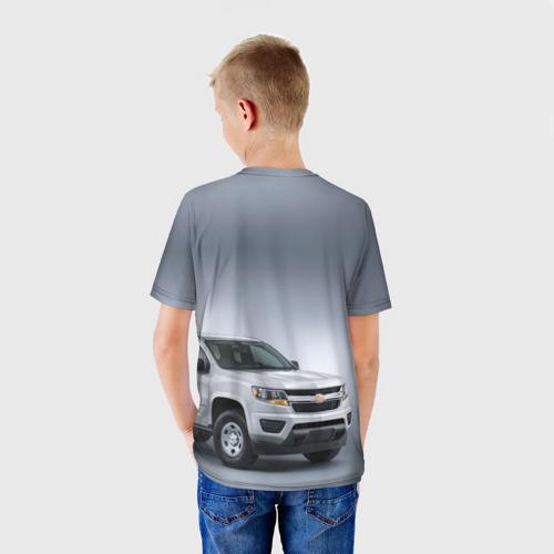 Детская футболка 3D  Фото 02, Chevrolet пикап
