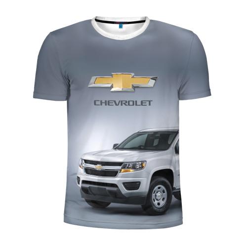 Мужская футболка 3D спортивная Chevrolet пикап Фото 01