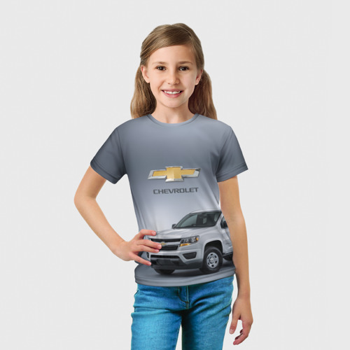 Детская футболка 3D  Фото 03, Chevrolet пикап