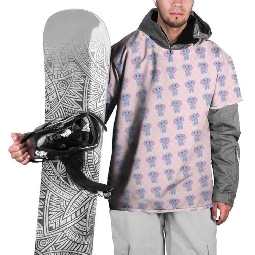 Накидка на куртку 3D  Фото 01, Слоники