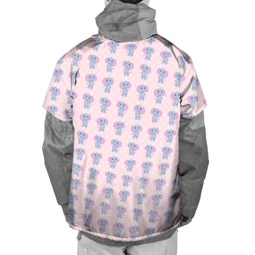 Накидка на куртку 3D  Фото 02, Слоники