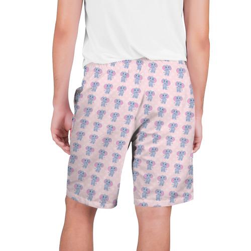 Мужские шорты 3D  Фото 02, Слоники