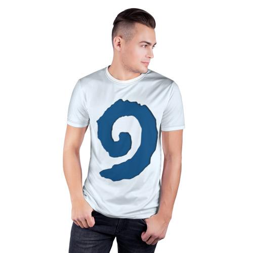 Мужская футболка 3D спортивная  Фото 03, Hearthstone