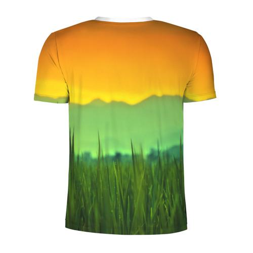 Мужская футболка 3D спортивная  Фото 02, Пейзаж