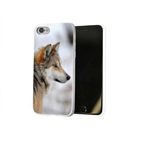 Чехол для Apple iPhone 8 силиконовый глянцевый  Фото 02, Хозяин леса