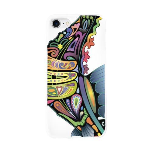 Чехол для Apple iPhone 8 силиконовый глянцевый  Фото 01, Морской конек