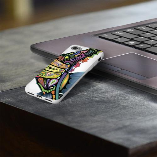 Чехол для Apple iPhone 8 силиконовый глянцевый  Фото 03, Морской конек