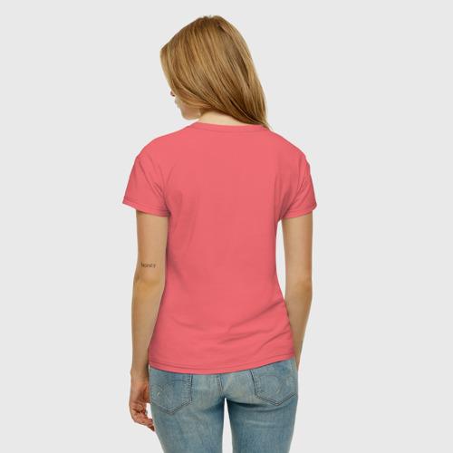 Женская футболка хлопок Фламинго Фото 01