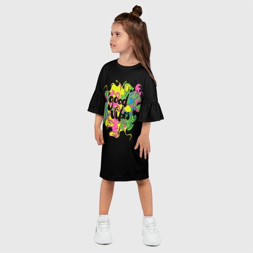 Детское платье 3D  Фото 03, Good vibes