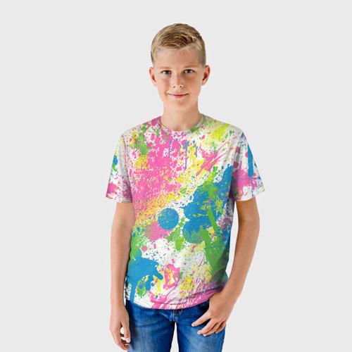 Детская футболка 3D Брызги