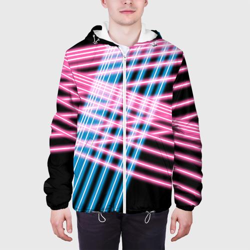 Мужская куртка 3D Неон Фото 01