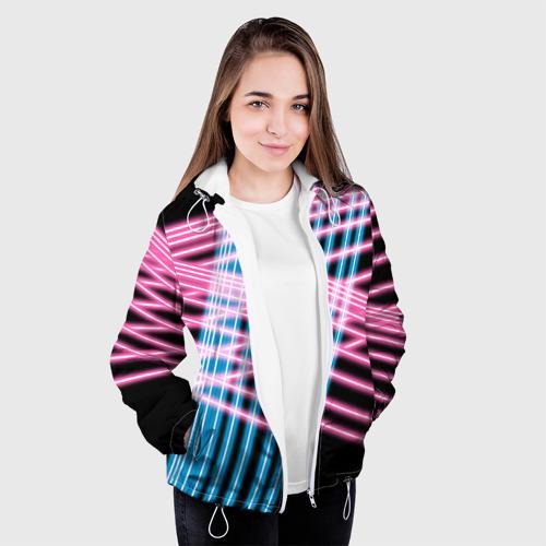 Женская куртка 3D  Фото 04, Неон