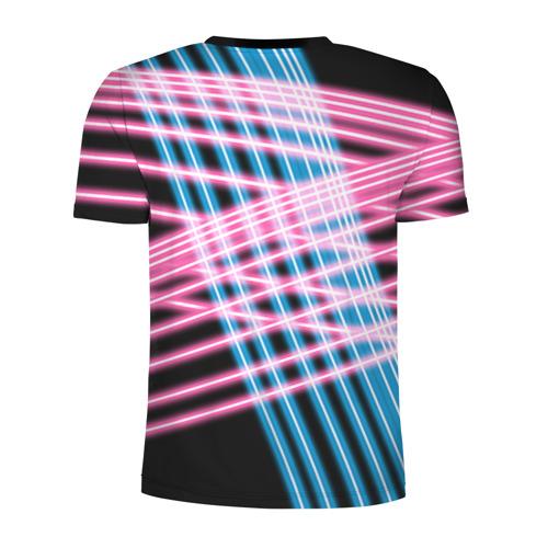 Мужская футболка 3D спортивная Неон Фото 01