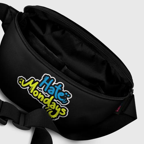 Поясная сумка 3D Ненавижу понедельники! Фото 01