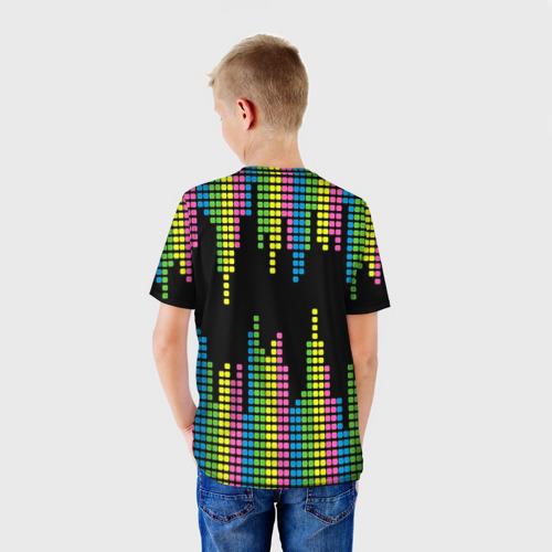 Детская футболка 3D  Фото 02, Эквалайзер