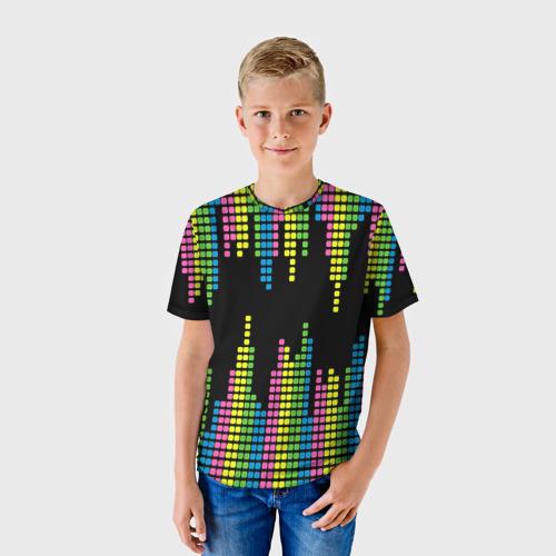 Детская футболка 3D Эквалайзер