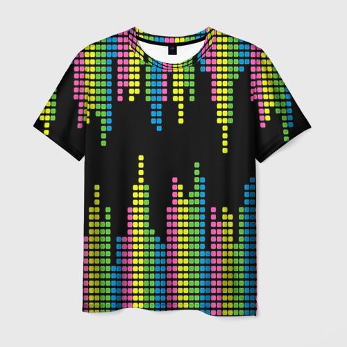 Мужская футболка 3D Эквалайзер