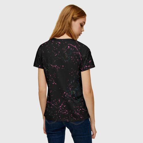 Женская футболка 3D Космический рок Фото 01