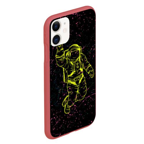 Чехол для iPhone 11 матовый Космический рок Фото 01