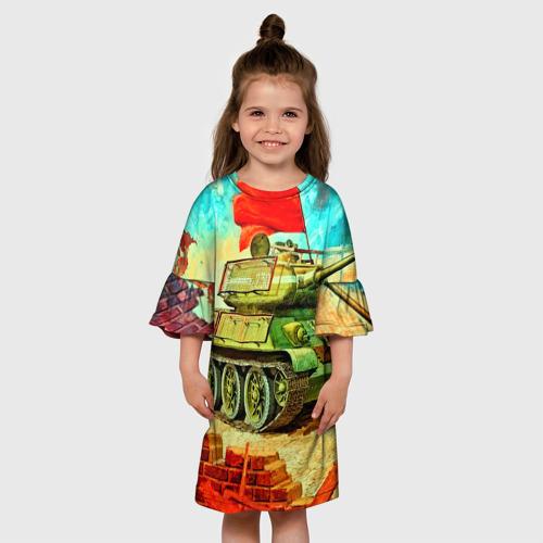 Детское платье 3D  Фото 01, Танк
