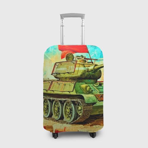 Чехол для чемодана 3D Танк Фото 01