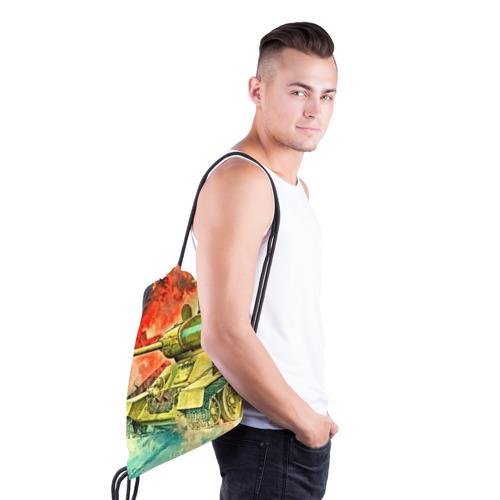 Рюкзак-мешок 3D  Фото 03, Tank