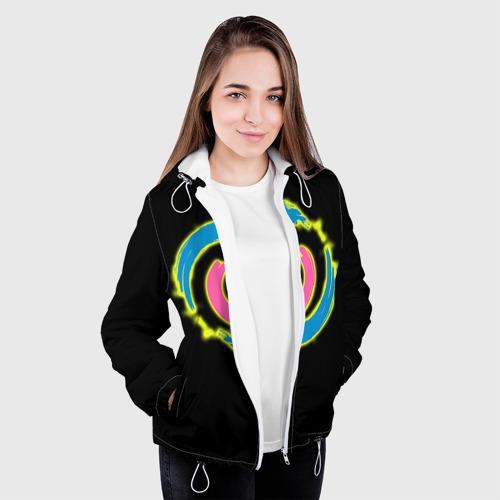 Женская куртка 3D  Фото 04, Вкл/Выкл