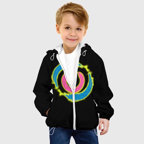 Детская куртка 3D  Фото 03, Вкл/Выкл