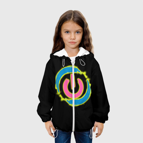 Детская куртка 3D  Фото 04, Вкл/Выкл