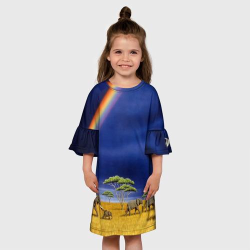 Детское платье 3D  Фото 01, Мир