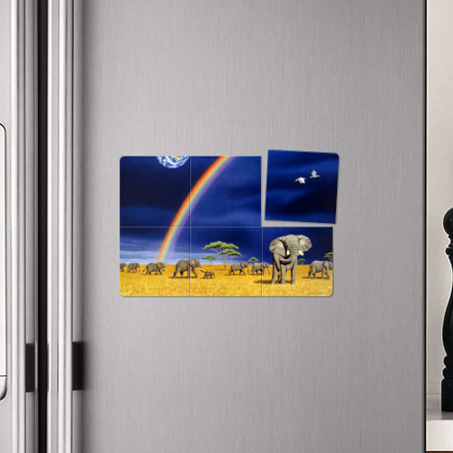Магнитный плакат 3Х2  Фото 04, Мир