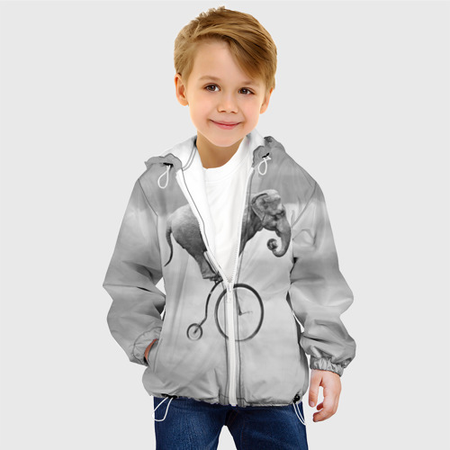 Детская куртка 3D  Фото 03, Hipster Bike