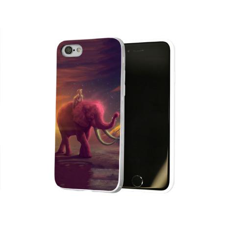 Чехол для Apple iPhone 8 силиконовый глянцевый  Фото 02, Индия