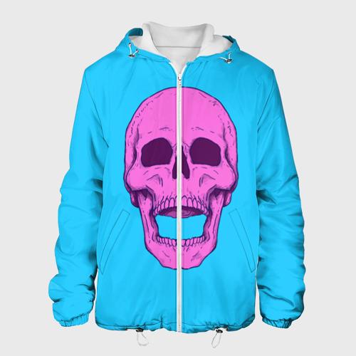 Мужская куртка 3D  Фото 01, Череп Skull