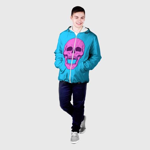 Мужская куртка 3D  Фото 03, Череп Skull